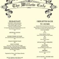 willow-menu