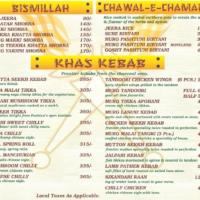 Pashtun-menu