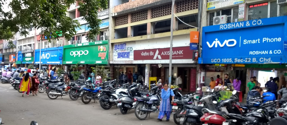 Sector 22 Mobile Market