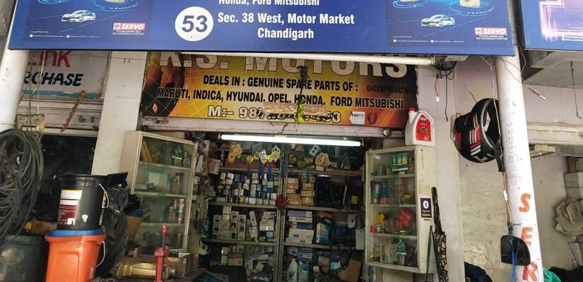 Sector 38 Motor Market
