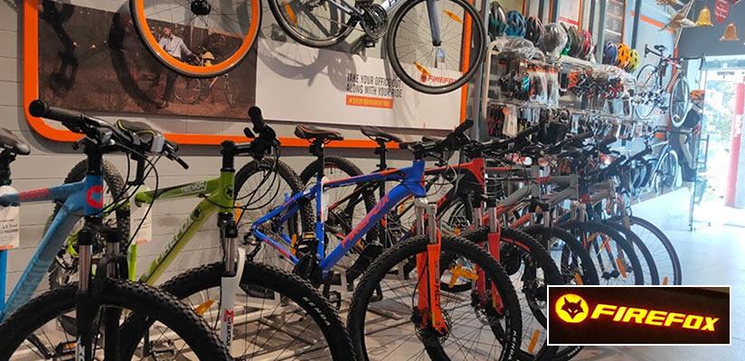 Firefox Bike Station