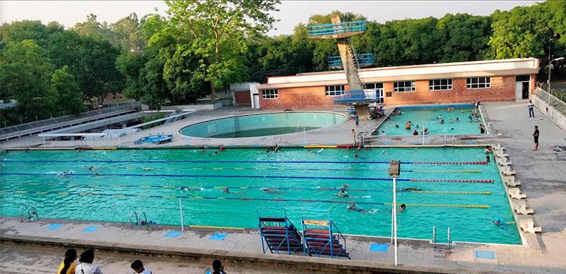 PU Swimming Pool Sector 14 Chandigarh